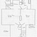 Floor Plan 1207 S. State St. 1st Floor